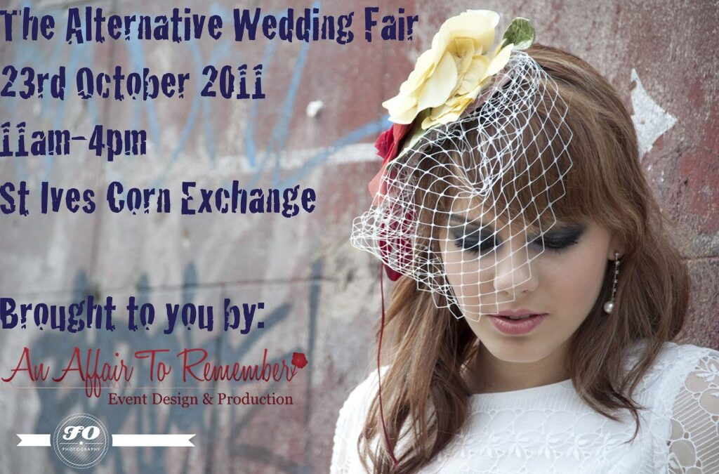 The Alternative Wedding Fair – 23rd October 2011