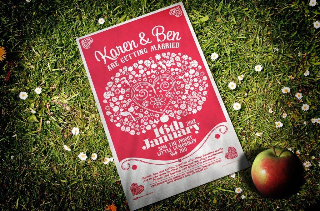Festival Brides Love: The Original Wedding Tea Towel