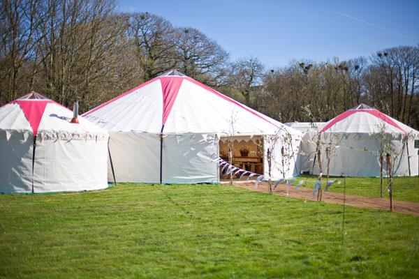 Festival Brides Love: Hooe's Yurts