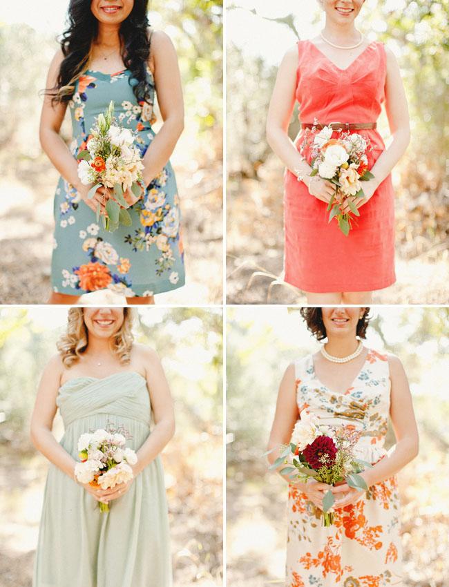 pick your bridesmaid dresses match wedding trend