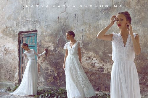 Stunning Wedding Dresses by KATYA KATYA SHEHURINA