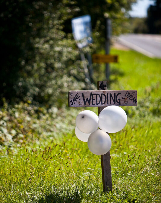 Jane & Dylan's Homemade Vintage Garden Party Wedding