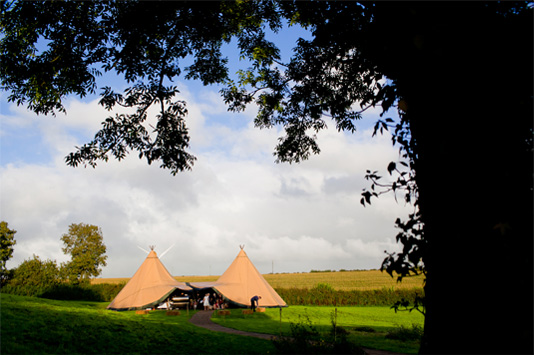 Tents Galore at The Fabulous Wedding Festival