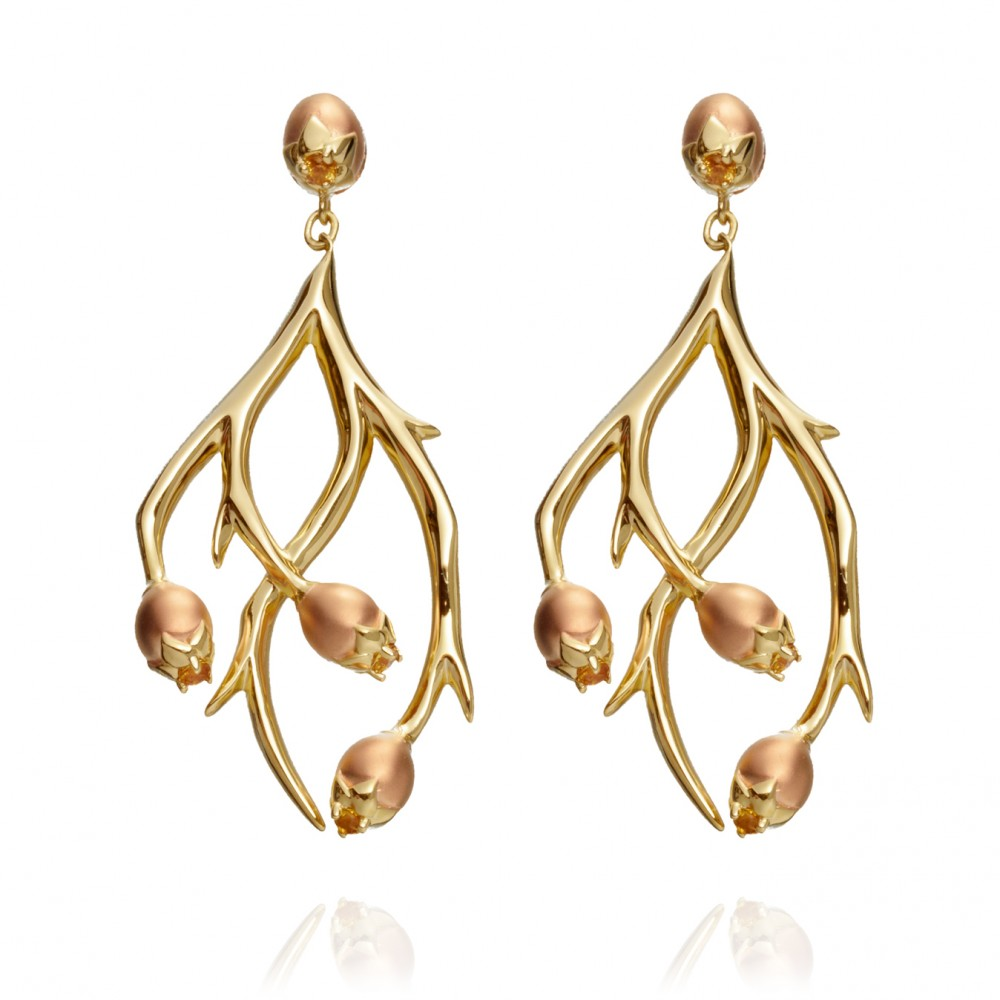 Hawthorn Earrings from Astley Clarke