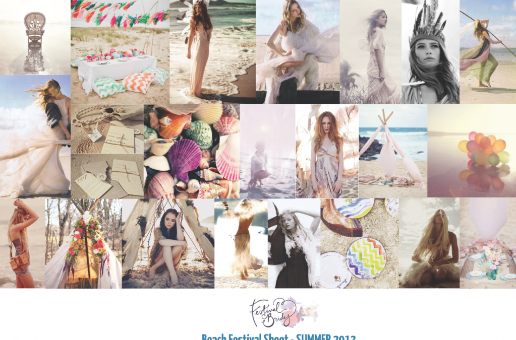Free Spirited Wedding Inspiration – Beach Festival Shoot