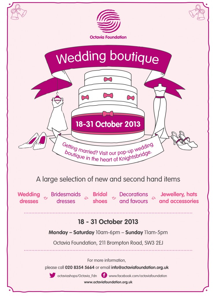 OF_Brompton Rd Wedding Event_A4 poster_AW