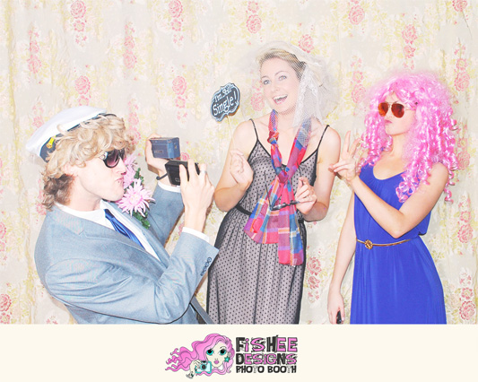 Fishee Designs New and Exciting Photo Booth…..