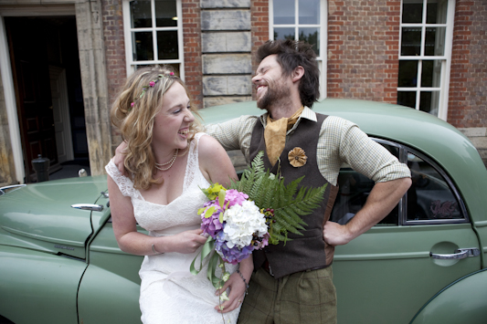 Oli and Lily's Relaxed and Unique Festival Wedding