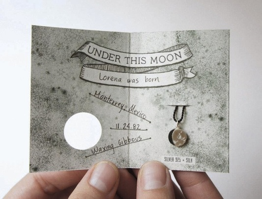 Bridesmaid Moon gift