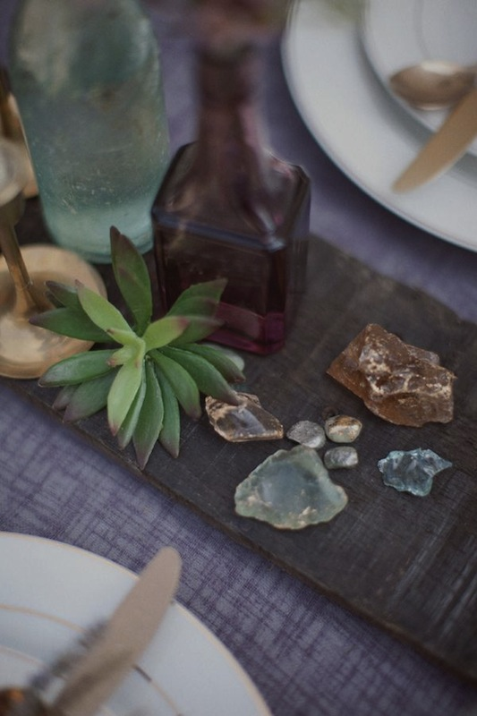 Gem Stone Table decor 1