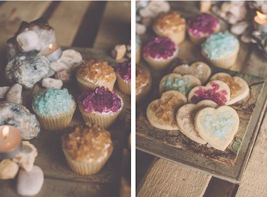 Gemstone Cupcakes