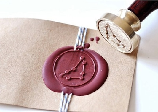 Wax seal Capricorn