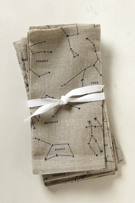 constellation napkins