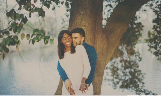 Stephané and Jo's 'Happy' Save The Date Video….