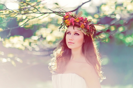 Queen of The Forest: A Whimsical Woodland Bridal Shoot