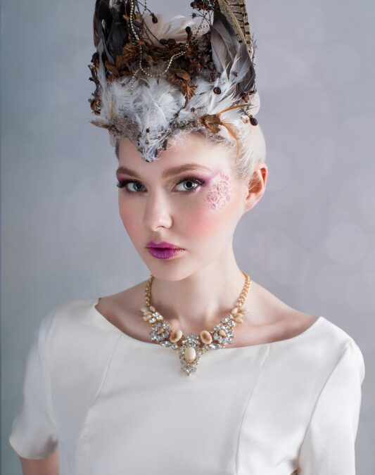 Natures Dream: A Whimsical Bridal Shoot featuring Curious Fair Headpieces