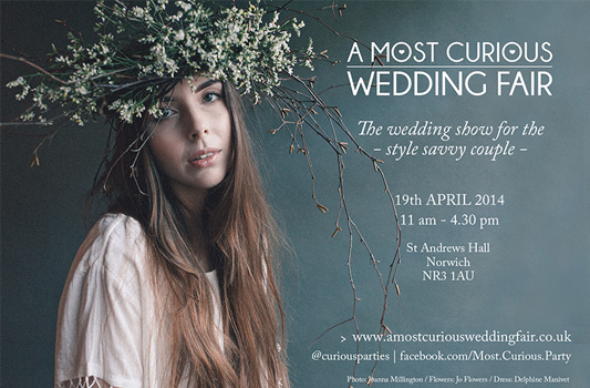 A Most Curious Wedding Fair – The UK's Coolest Wedding Show Comes to Norwich!