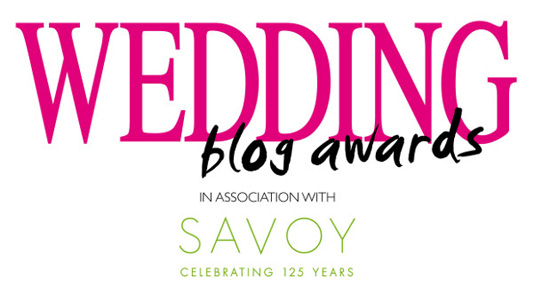 Please Nominate Us For The Wedding Blog Awards 2014!
