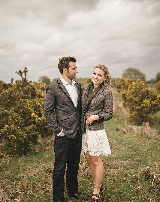 Kim and Chris – Woodland Engagement Shoot