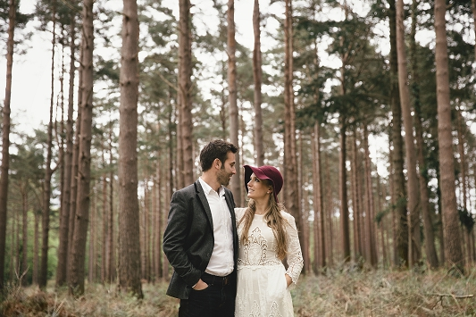 Festival Brides - Kat Hill Photography Rustic Outdoor Engagement Shoot_017