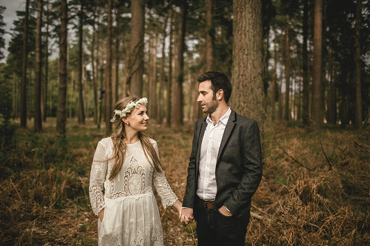 Festival Brides - Kat Hill Photography Rustic Outdoor Engagement Shoot_025