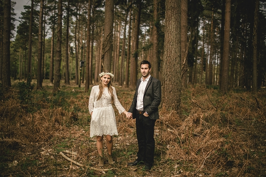 Festival Brides - Kat Hill Photography Rustic Outdoor Engagement Shoot_028