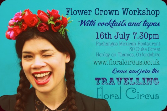 Flower Crown Workshop with Floral Circus