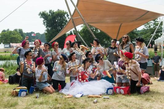 French Hen Do at Latitude Festival