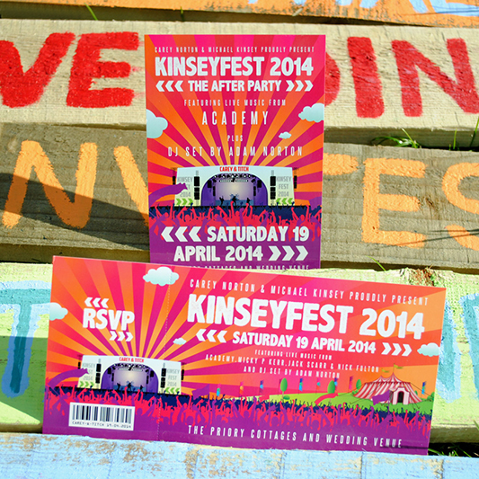 festival-flyer-and-ticket-wedding-stationery