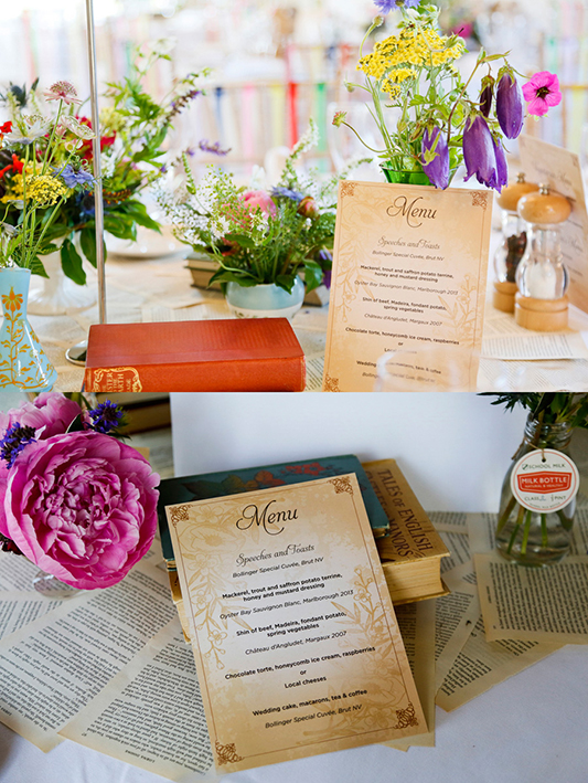 vintage-wedding-menus