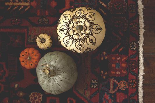 Pumpkins Get Hella Cute………… a Boho Halloween DIY