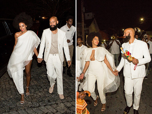 Solange Knowles Marries Alan Ferguson - Rehearsal Dinner