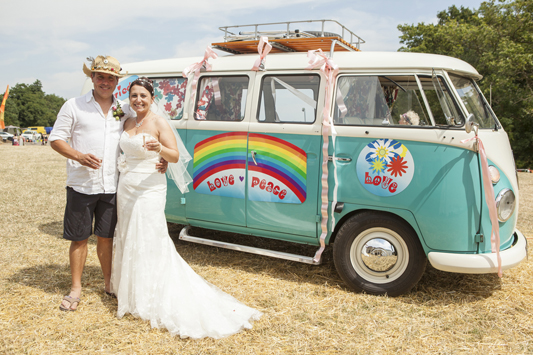 Simon and Sarah's 'Celebration Festival' Wedding….