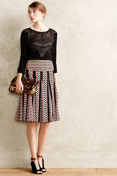Chevron-Brights-Skirt