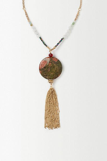 Gilded Tassel Pendant