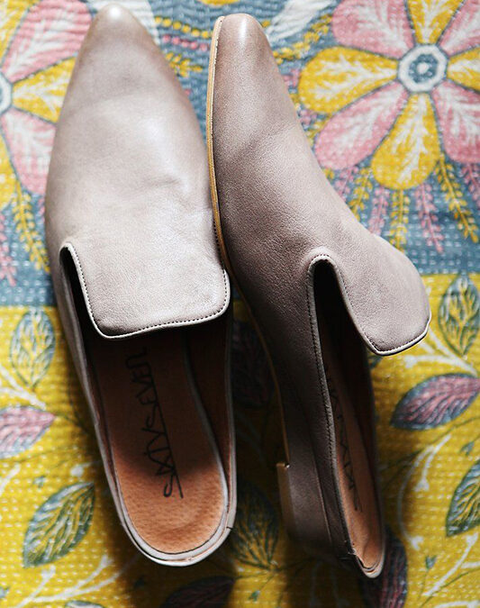 The Mule Muse: Original Slip-On Footwear for the Alternative Bride