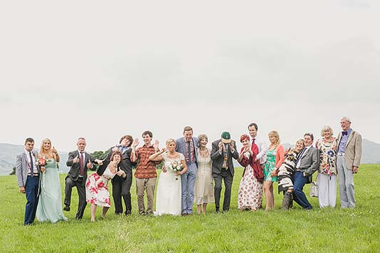 Amber and Chris' Simple, English and festival Style Wedding!