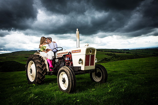 Festival Brides Love: Peak District Farm Weddings