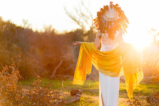 A Tribal Inspired Bohemian Wedding Shoot…