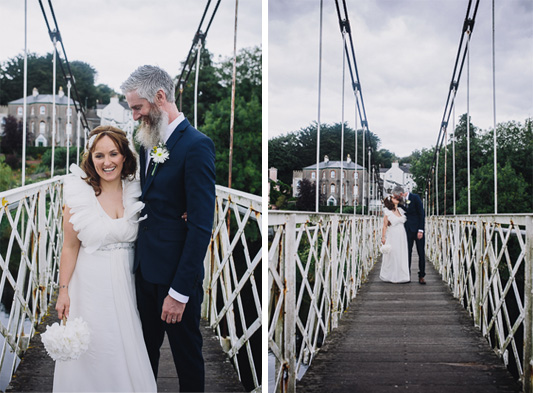Helen and Diarmuid's Country Fair Festival Wedding