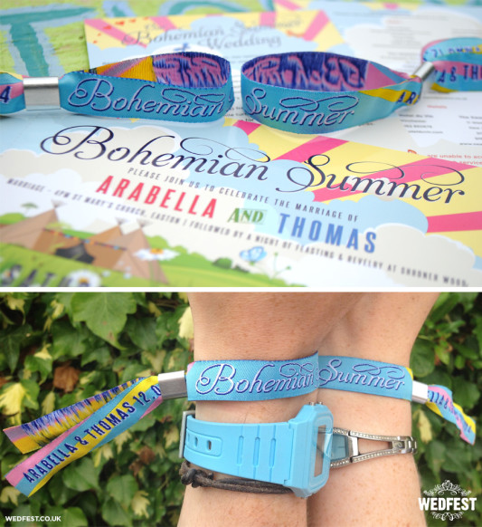bohemian-summer-wedding-festival-wristbands