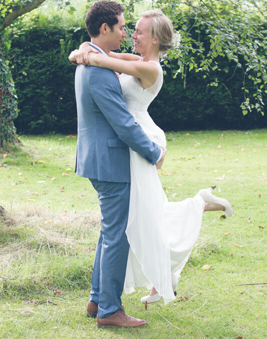 Emily and Lewis' Festival Style Outdoor Wedding On A Budget
