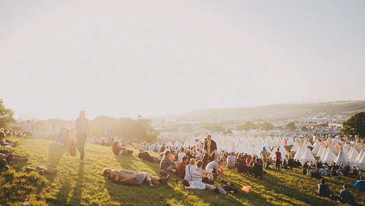 Glastonbury Inspiration b y We Heart Pictures