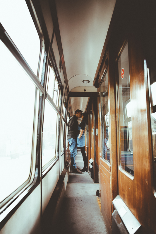 Anna & Myles Embsay Steam Railway Engagement Shoot By Shutter Go Click Photography-159