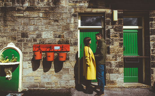 Anna & Myles Embsay Steam Railway Engagement Shoot By Shutter Go Click Photography-4