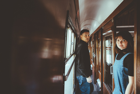Anna & Myles Embsay Steam Railway Engagement Shoot By Shutter Go Click Photography-40