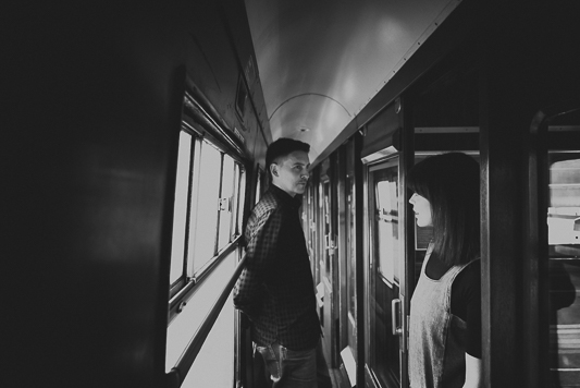 Anna & Myles Embsay Steam Railway Engagement Shoot By Shutter Go Click Photography-42