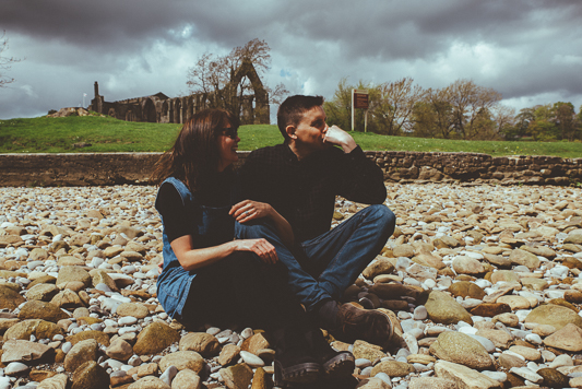 Anna & Myles Embsay Steam Railway Engagement Shoot By Shutter Go Click Photography-66