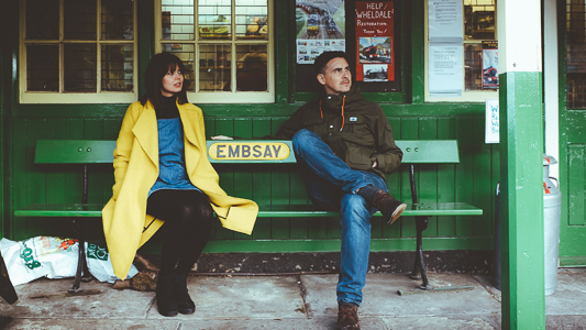 Anna & Myles Embsay Steam Railway Engagement Shoot By Shutter Go Click Photography-7