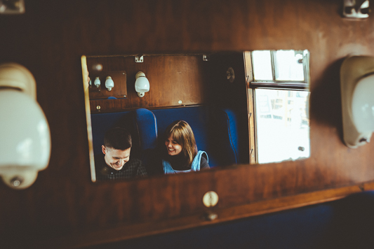 Anna & Myles Embsay Steam Railway Engagement Shoot By Shutter Go Click Photography-90